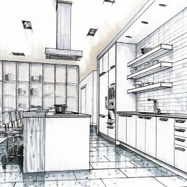 Interior Design Drawings interior design drawings - probrains