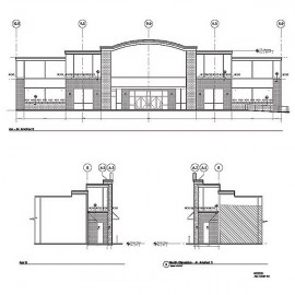 Cast Stone Shop Drawings with cut tickets & setting drawings
