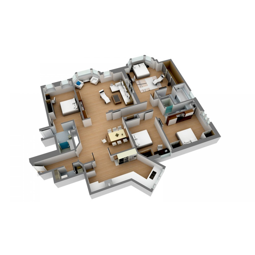 Architectural 3d renderings floor plans 3d architectural floor plans