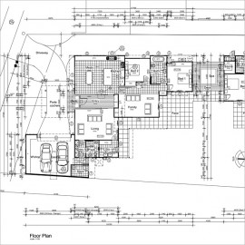 Set of Architectural Drawings, outsource your drafting to Idraw