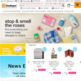 eCommerce website development for office supplies online store