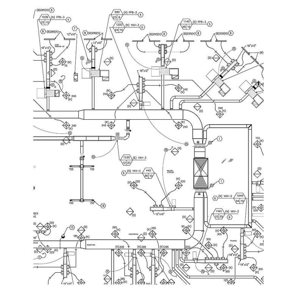 Hvac Shop Drawings - Auto Electrical Wiring Diagram