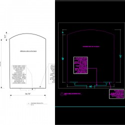 I need PDF arch drawings converted to CAD to scale