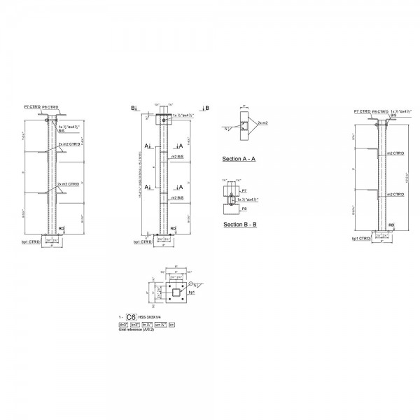 Structural Steel Shop Drawings And Detailing