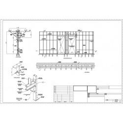 Interior wall framing shop drawings