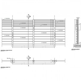 Wood Fence Shop Drawings