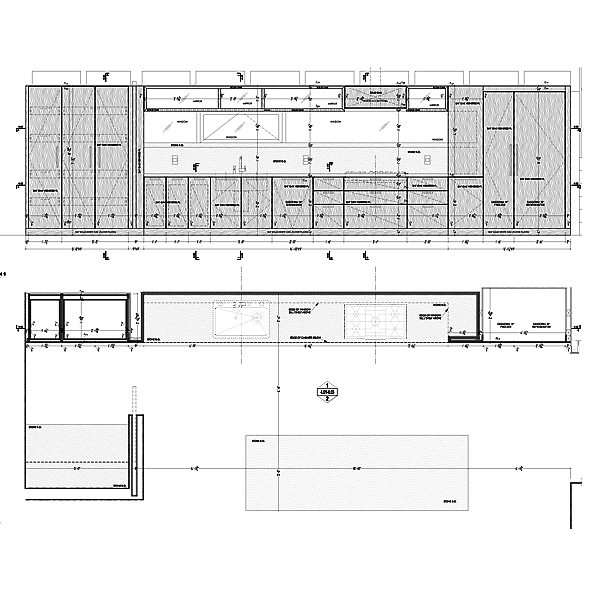 Kitchen Cabinets Cad Drawings: Kitchen, Master Bath & Bedroom Cabinets Shop Drawings